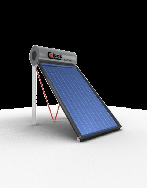 Ηλιακός θερμοσίφωνας Mark4 160/2.6