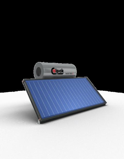 Ηλιακός θερμοσίφωνας Mark4 160/2.6H