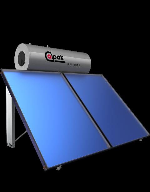 ηλιακός θερμοσίφωνας Prisma 200/4.0 από την Calpak