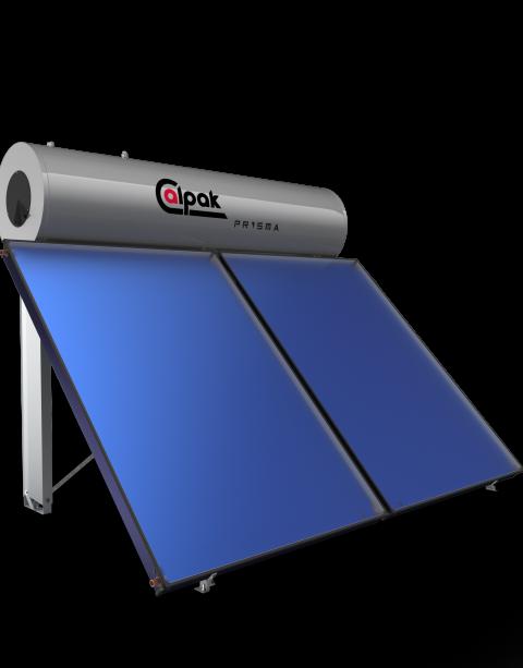 Ηλιακός Θερμοσίφωνας Prisma 300/4.0 από την Calpak
